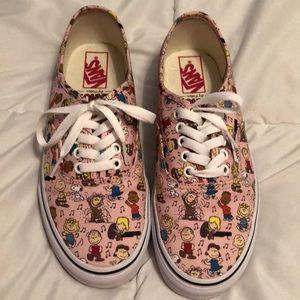 Vans Peanuts collaboration size 8.5 women